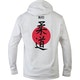 Blitz Judo Training Hooded Top in White - Back