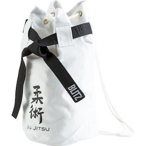 Blitz Jujitsu Discipline Duffle Bag - White