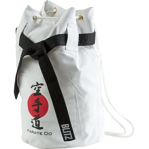 Blitz Karate Discipline Duffle Bag - White