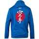 Blitz Karate Training Hooded Top in Blue - Back