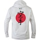Blitz Karate Training Hooded Top in White - Back
