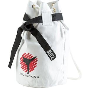 Blitz Kickboxing Discipline Duffle Bag - White