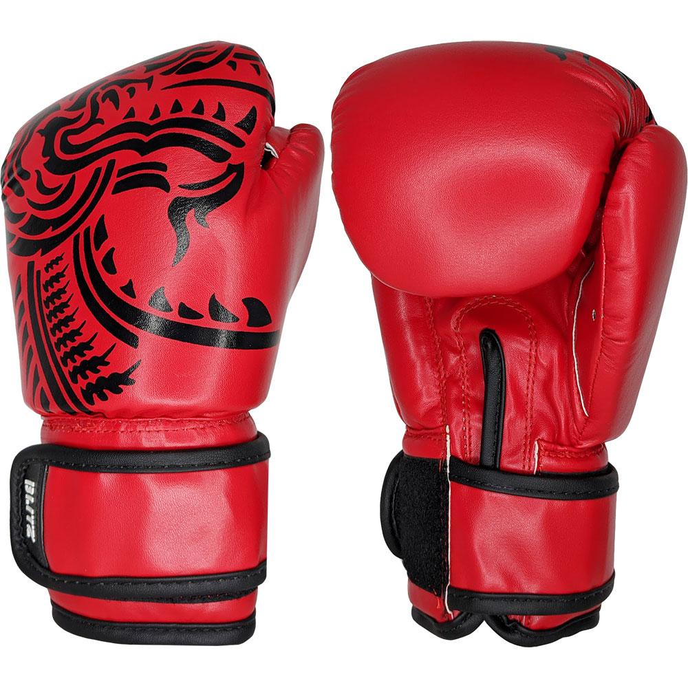 Image of Blitz Kids Firepower Muay Thai Boxing Gloves - Red