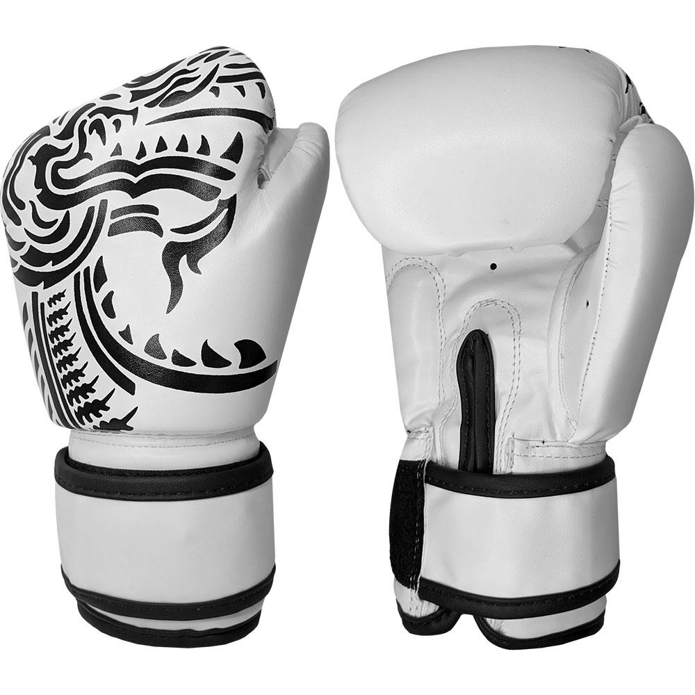 Image of Blitz Kids Firepower Muay Thai Boxing Gloves - White