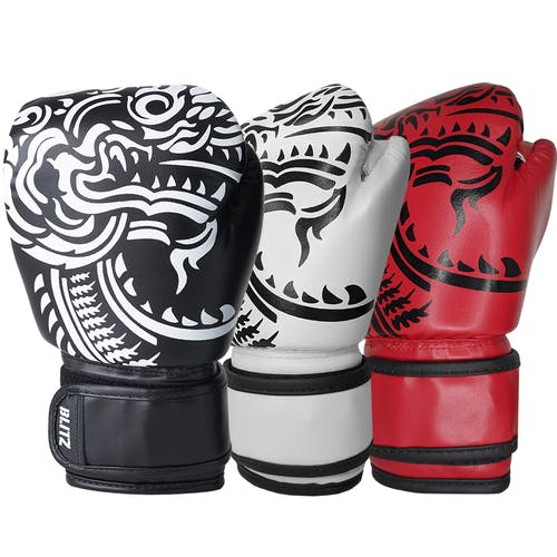 Blitz Kids Firepower Muay Thai Boxing Gloves