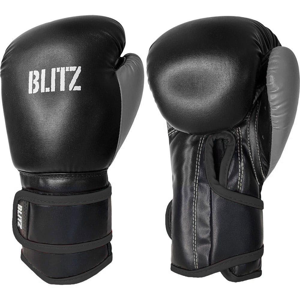 Image of Blitz Kids Kickboxing Gloves - Black