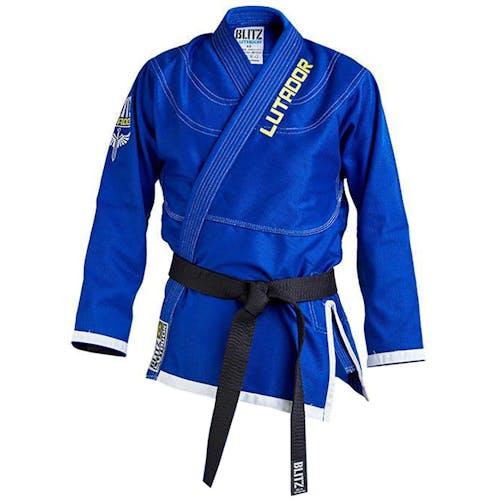 Blitz Lutador Brazilian Jiu Jitsu Jacket Only - Blue