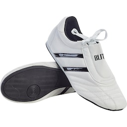 Blitz Martial Arts Training Shoes - White / Black