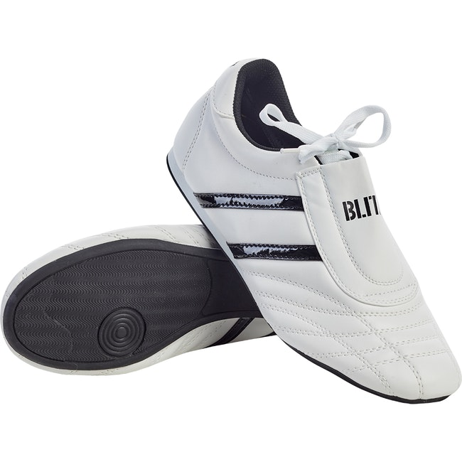 Blitz Martial Arts Training Shoes - White / Black