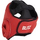 Blitz Odyssey Washable Head Guard in Red - Back