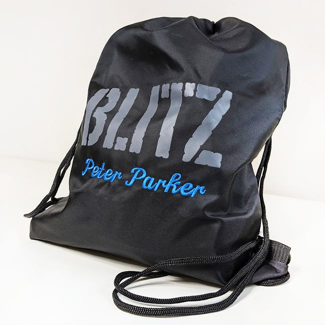 Blitz Personalised Drawstring Bag