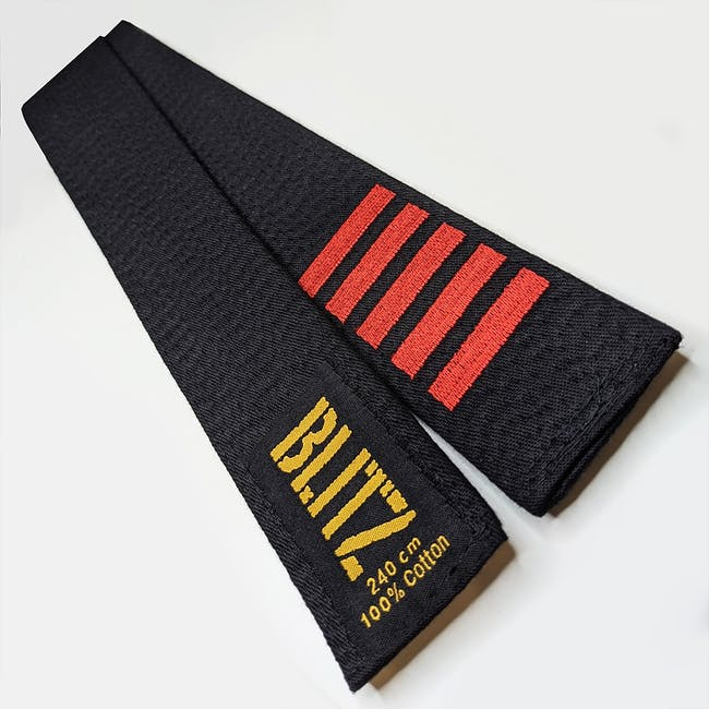 Blitz Personalised Embroidered Belt - Dan Bars Only