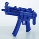 Blitz Plastic MP5 Assault Rifle - Detail 1