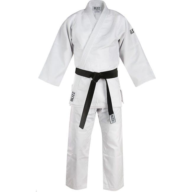 Blitz Master Heavyweight Judo Suit - White - 750g