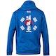 Blitz Taekwondo Training Hooded Top in Blue - Back