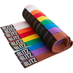 Blitz Velcro Plain Coloured Belt