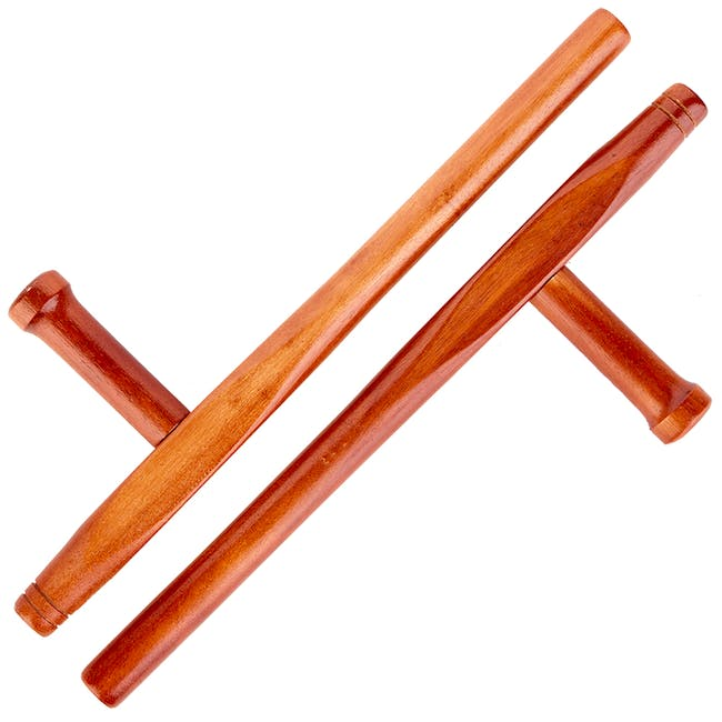 Blitz Wooden Red Oak Round Tonfa