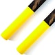 Blitz Yellow / Black Foam Cord Nunchaku - Detail 2