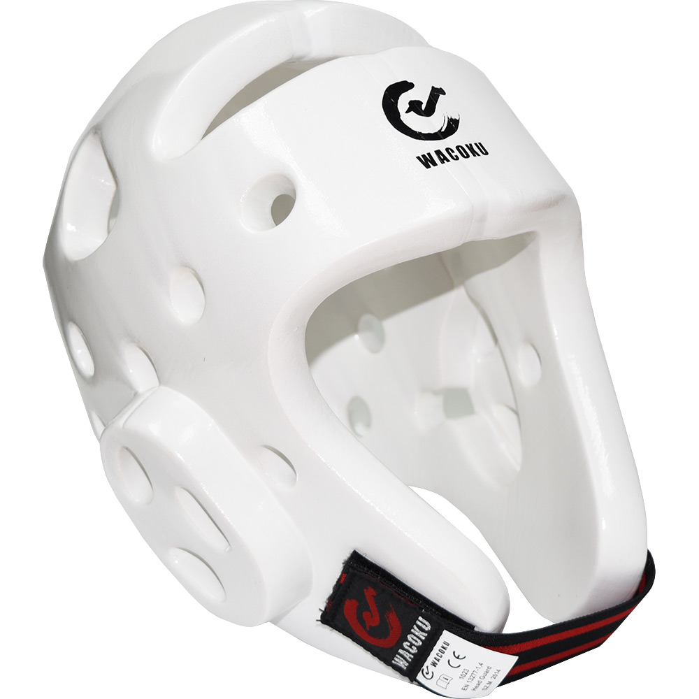 Image of Wacoku WT Approved Dipped Foam Head Guard - White