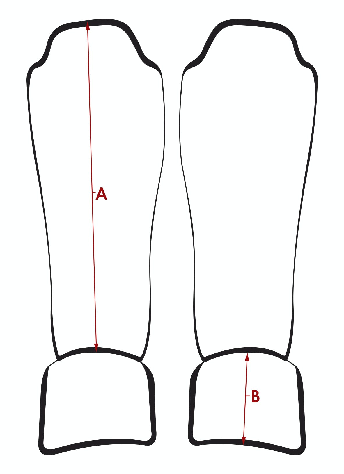 Shin Guard Diagram