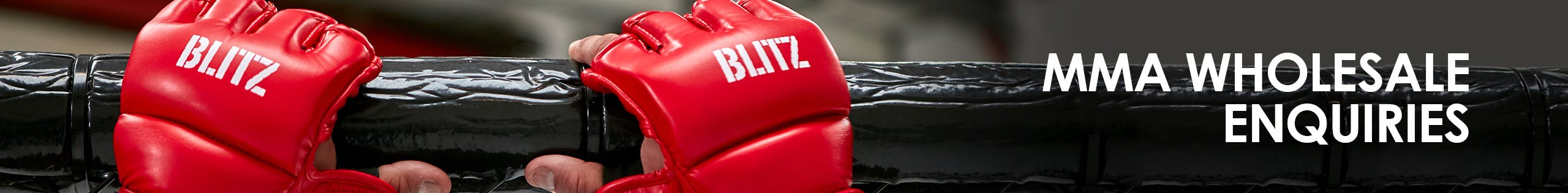 Blitz MMA Wholesale Account Application