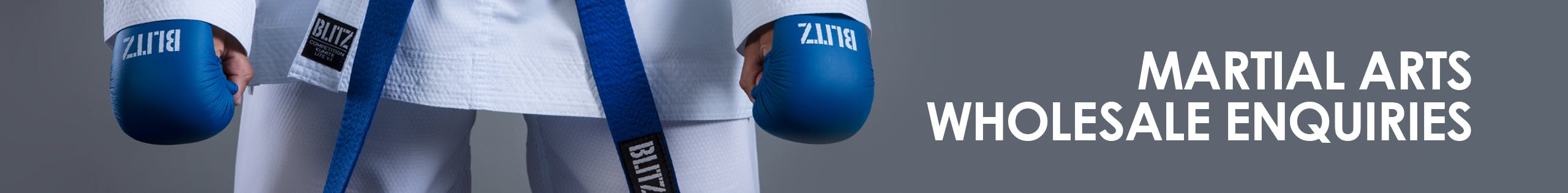 Blitz Martial Arts Wholesale Account Application